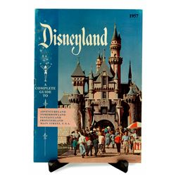 Disneyland guidebooks for 1957