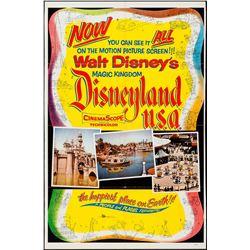 Disneyland U.S.A. one-sheet poster.
