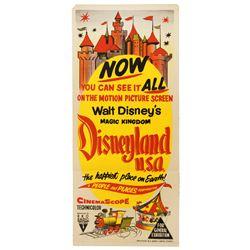 Disneyland U.S.A. Australian release one-sheet poster.