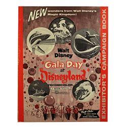 "Press kit for ""Gala Day at Disneyland""."