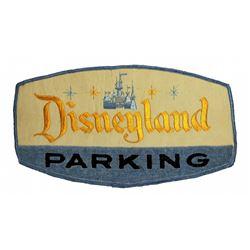 Disneyland parking attendant jacket patch.