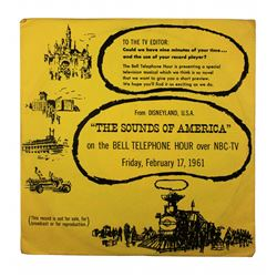 Bell Telephone The Sounds of America Promo Record with Sleeve.