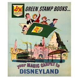 S & H Green Stamps Disneyland poster.
