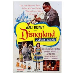 """""""DISNEYLAND AFTER DARK"""" ONE-SHEET THEATRICAL RELEASE POSTER."""