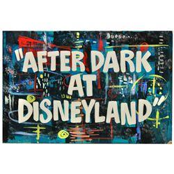 """""""Disneyland After Dark"""" original title card."""