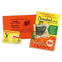 Sunkist Disneyland promotional display kit.