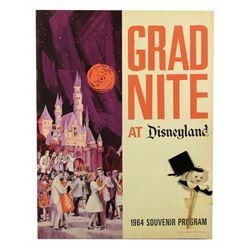 Grad Night  souvenir program folder and photos .
