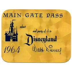 VIP gold complimentary main gate ticket.