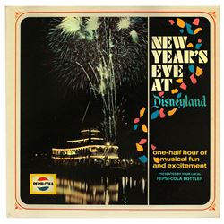 New Years Eve at Disneyland promotional radio-play album.