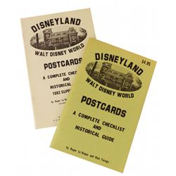 A Complete Checklist & Historical Guide for Disneyland and Disney World Postcards.