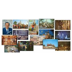 Collection of (50) Disneyland postcards.