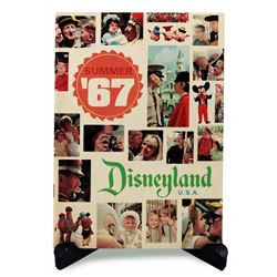 Disneyland 1967 Summer guidebook supplement.