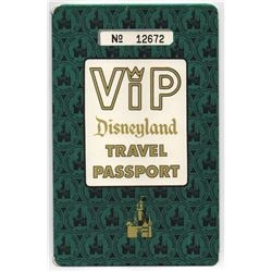 Disneyland VIP children's travel passport ticket book.