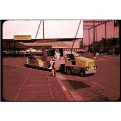 Set of (78) color amateur slides of Disneyland circa 1955-1956.