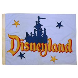 Main Street Station entrance flag.