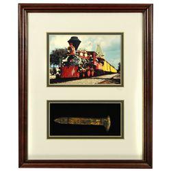 Santa Fe and Disneyland Railroad train spike.