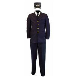 Disneyland Railroad cast member conductor costume.