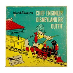 "Disneyland Railroad  ""chief engineer"" costume with box."