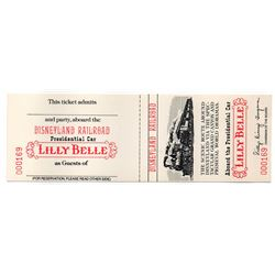 RETLAW Lilly Belle Presedential Car passage ticket.