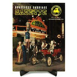 1955 Horseless Carriage Gazette magazine.