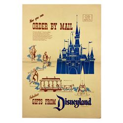 Fabulous Gifts From Disneyland Mail order catalog.