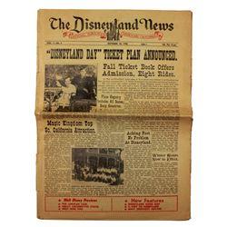 Disneyland News forth issue.