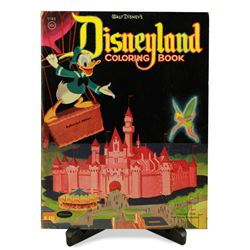 Disneyland first year coloring book.