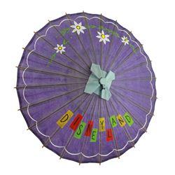 Rare Disneyland japanese paper parasol.