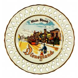 Eleanor Welborn Main Street decorative wall plate.