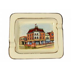 SWIFT'S MARKET HOUSE SOUVENIR ASHTRAY.