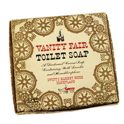 Swift's Market House vanity fair toilet soap in box.