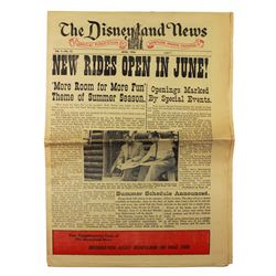 Disneyland News issue.