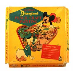 Disneyland pencil craft painting kit.
