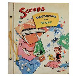Disneyland Scraps, Daydreams, and Stuff scrapbook.