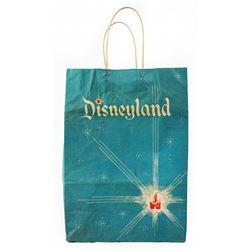 Early Disneyland shopping bag.