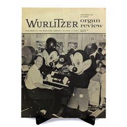 1950s Wurlitzer Organ Review magazine .