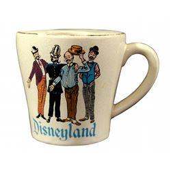Barbershop Quartet mustache coffee cup