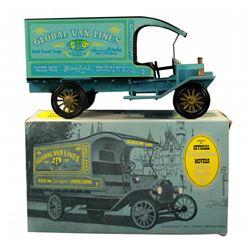 Main Street Global Van Lines toy model truck in box