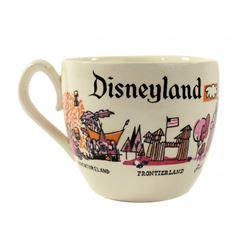 Disneyland souvenir coffee mug.