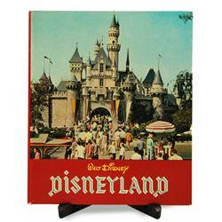 Walt Disney's Disneyland souvenir hardcover book.