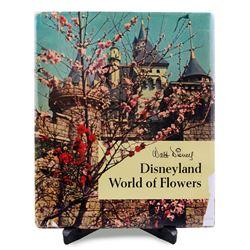 Disneyland's World of Flowers souvenir hardcover book.
