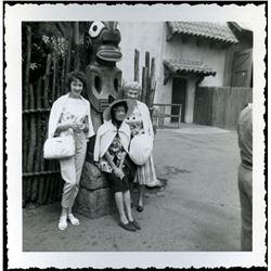 Collection of (10) amateur photos at Disneyland circa 1956-1959
