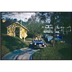 Collection of (39) color amateur slides of Disneyland circa 1962.
