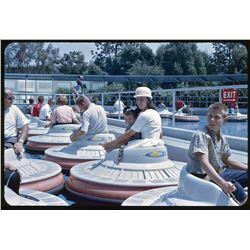 Collection of (85) color amateur slides of Disneyland circa 1962.