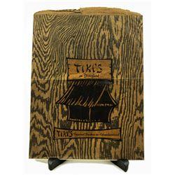 Tiki's Tropical Traders Retail Shopping Bag.
