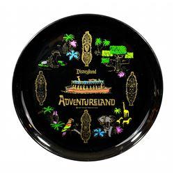 Adventureland souvenir serving tray.