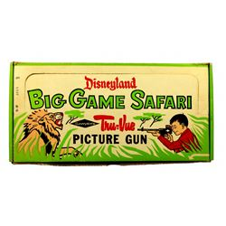 "Disneyland Big Game Safari ""Tru-Vue"" picture gun with box."
