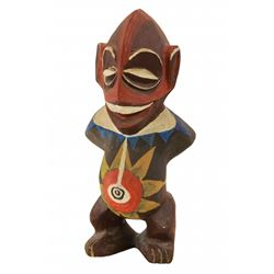"Enchanted Tiki Room lanai pre-show ""Tangaroa-Ru Baby"" prop figure"