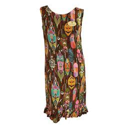 Vintage Enchanted Tiki Room hostess dress- pattern B.