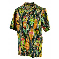 Vintage Enchanted Tiki Room host shirt- pattern C.